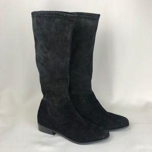 Vaneli Knee High Suede Boots 7.5